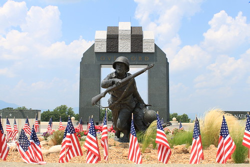 National D-Day Memorial - Valor, Fidelity and Sacrifice by Overlord Arch