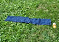 blue garter scarf finished 20100630_6