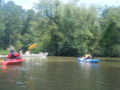 Boats on the Saluda
