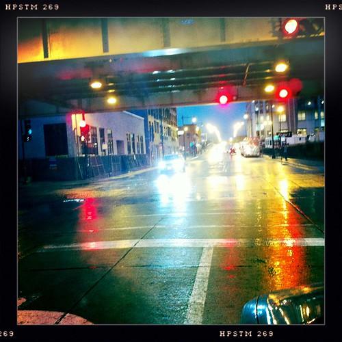 Rain slicked streets 1