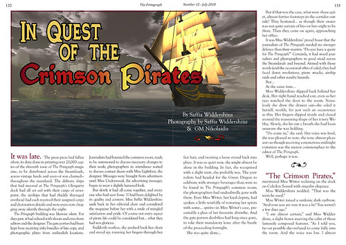 The Primgraph - Issue 12: In Quest of the Crimson Pirates