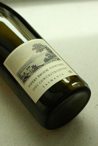 Pipers Brook Vineyard, Gewurtztraminer 2004