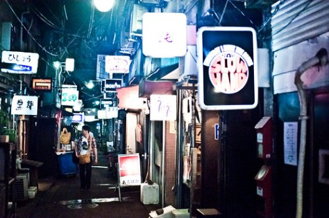 Golden Gai night
