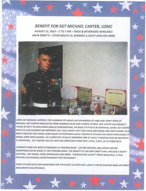 Carter Benefit 8-21-10