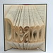 Book folding art by Issac Salazar