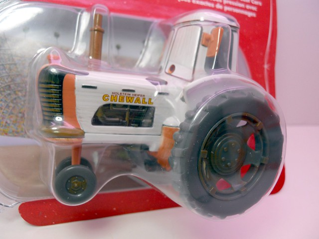 disney store cars tractor white (2)