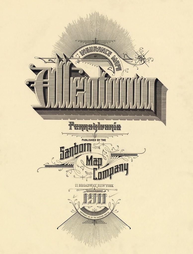 Allentown, Pennsylvania 1911