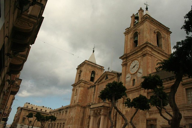 Cathedral of St John the Baptist in Valletta Malta