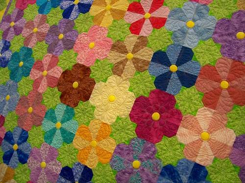"Vermont Quilt Festival ""Flower Power"" - Pat Gaston"