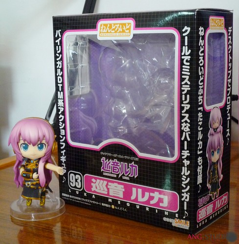 Nendoroid 98: Megurine Luka packaging