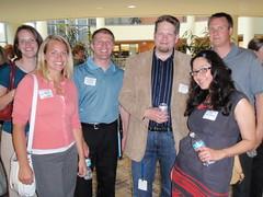 Attendees meeting Chris Brogan