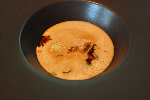 Onion Soup, Crespià Walnuts and Comté Cheese