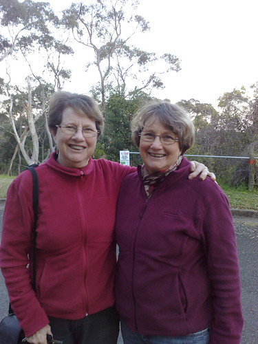 My Mum and her twin sister Liz
