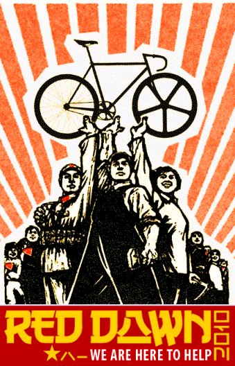 Bikes are a commie conspiracy
