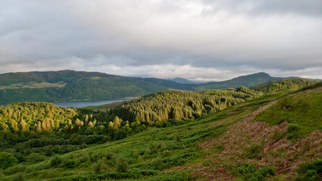 Evening light near Loch Alsh