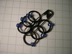 stitchmarkers blue
