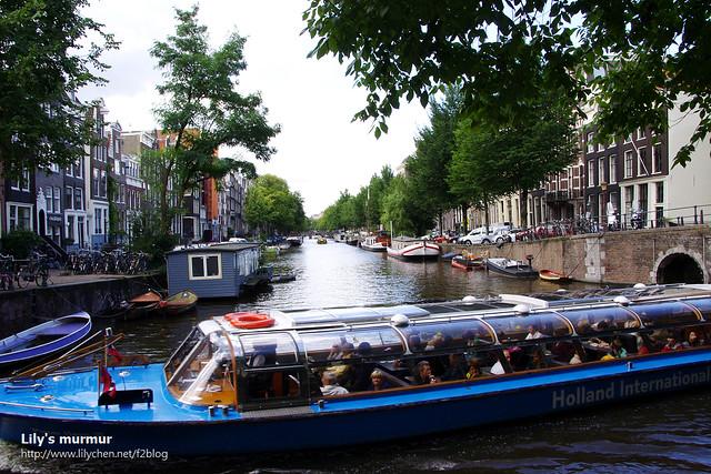 希望下次再訪阿姆斯特丹時,能夠搭一次這樣的運河觀光船。