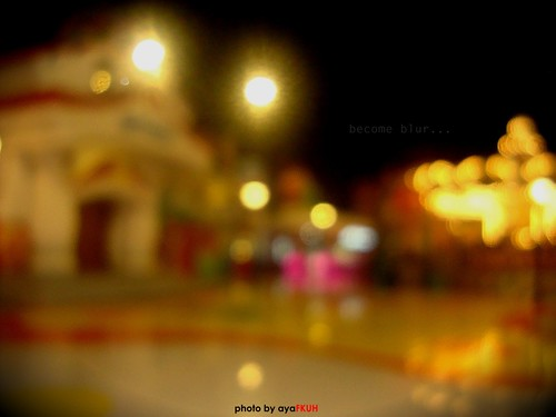 become blur