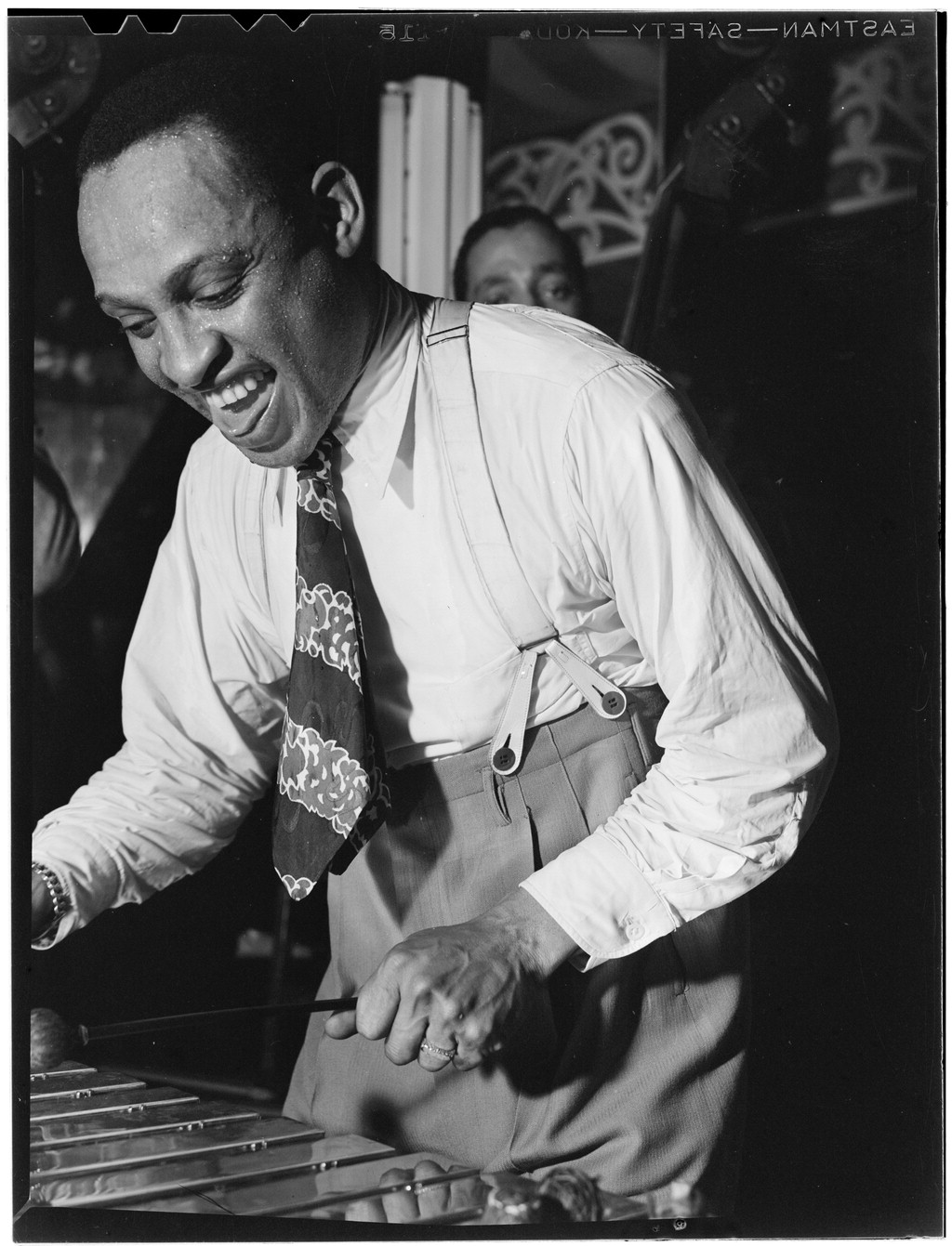 Portrait of Lionel Hampton, Aquarium, New York, N.Y., ca. June 1946 (LOC)