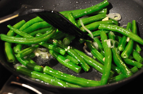 French Beans Cooking