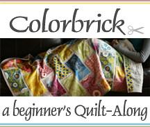 {Colorbrick} a beginner's Quilt-Along