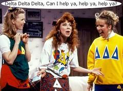 Delta Delta Delta Can I Help Ya Help Ya Help Ya