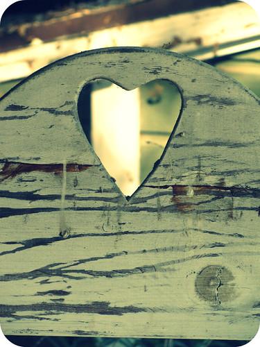 HEART BENCH