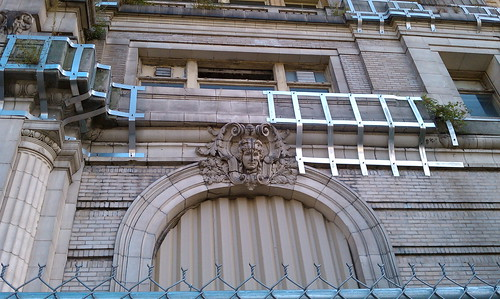 Detail from Cook County Hospital