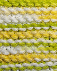 dishcloth stitching