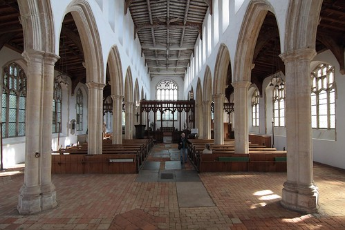 Blythburgh, Suffolk, Holy Trinity Church.