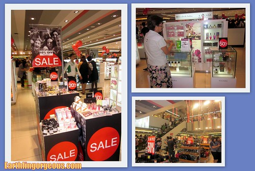 Cosmetics and Perfume at SM Department Store Cubao