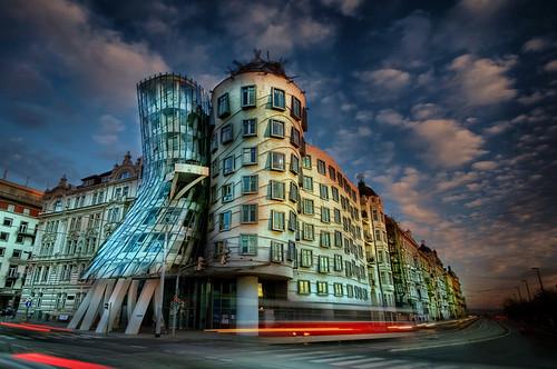 Dancing House (Tancici dum), Prague by Stevacek