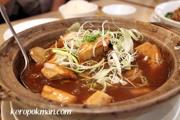 Fish Head with Tofu in Claypot
