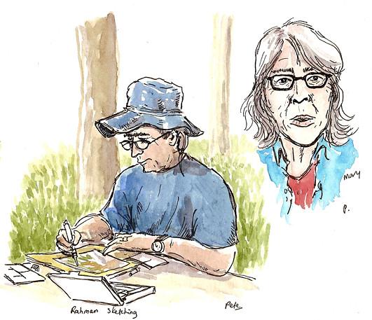 rahman sketching