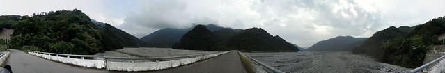 大安溪谷全景