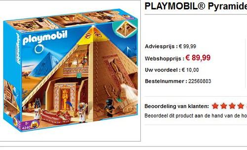 De Playmobil Pyramide