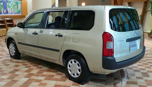 Toyota Probox: Version moderna de una camioneta Station Wagon