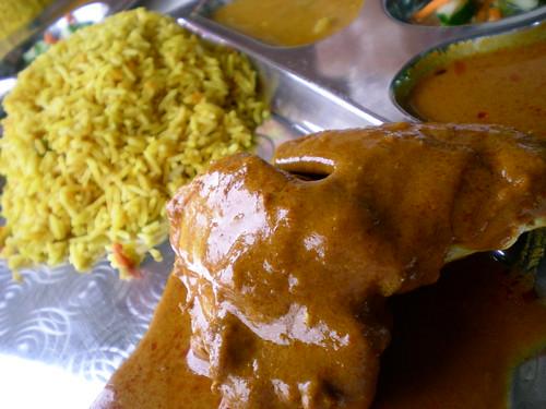 Nur Islamic chicken bryani