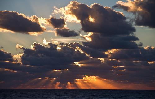Another beautiful sunrise at sea