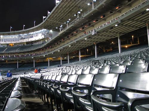 Wrigley Field, empty