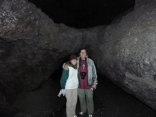 Ape Caves 5 Dave & Roberta