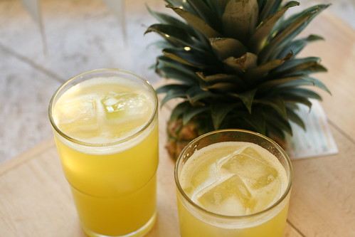 Pineapple Ginger Aqua Fresca
