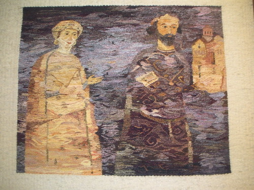 Tapestry weavinf from Kotel, Bulgaria
