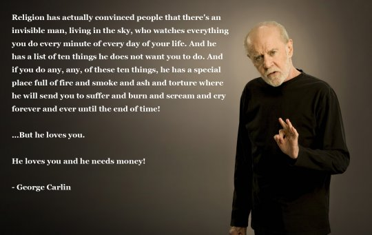 Carlin On Religion