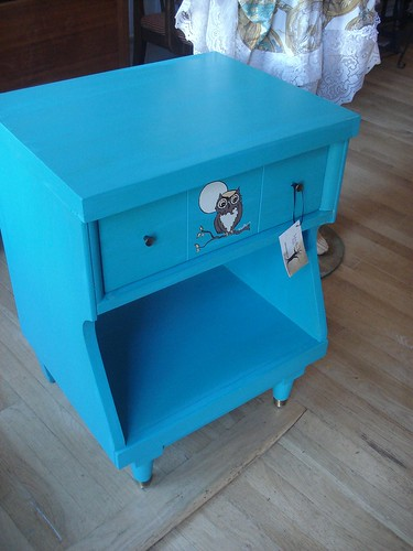 Owl at the Moon Sideboard