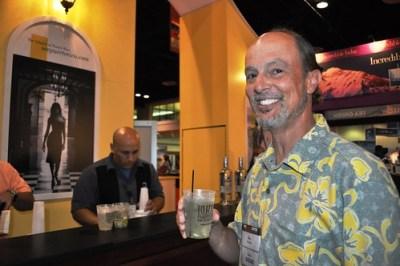 Glen Abbot of www.TravelinGringo.com Sampling Puerto Rico's Mojito