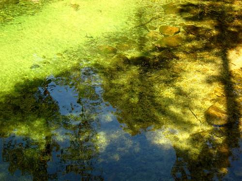 River Reflection, Mist Trail