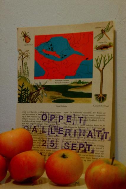 Gallerinatten, Malmö 25 september 18-24