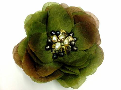 Autumn Flower Brooch 1