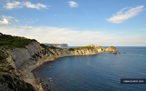 El Cap Prim y la Cala Barraca, Xàbia